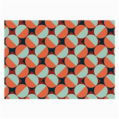Modernist Geometric Tiles Large Glasses Cloth (2 Side) by DanaeStudio