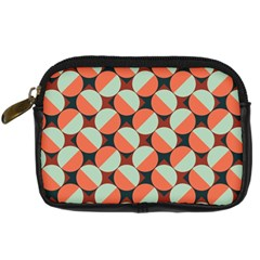 Modernist Geometric Tiles Digital Camera Cases by DanaeStudio