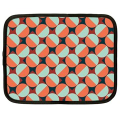 Modernist Geometric Tiles Netbook Case (xxl)  by DanaeStudio
