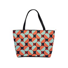 Modernist Geometric Tiles Shoulder Handbags by DanaeStudio