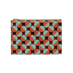 Modernist Geometric Tiles Cosmetic Bag (medium)  by DanaeStudio