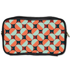 Modernist Geometric Tiles Toiletries Bags 2 Side by DanaeStudio
