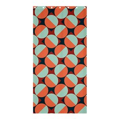 Modernist Geometric Tiles Shower Curtain 36  X 72  (stall)  by DanaeStudio