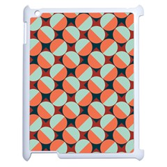 Modernist Geometric Tiles Apple Ipad 2 Case (white) by DanaeStudio