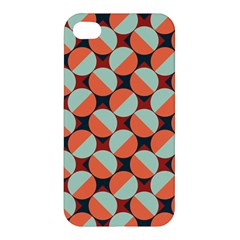 Modernist Geometric Tiles Apple Iphone 4/4s Premium Hardshell Case by DanaeStudio