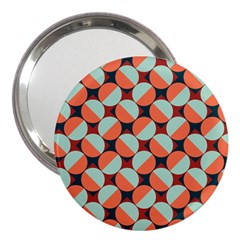 Modernist Geometric Tiles 3  Handbag Mirrors by DanaeStudio