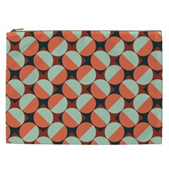 Modernist Geometric Tiles Cosmetic Bag (xxl)  by DanaeStudio