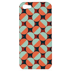 Modernist Geometric Tiles Apple Iphone 5 Hardshell Case by DanaeStudio
