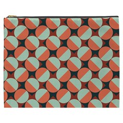 Modernist Geometric Tiles Cosmetic Bag (xxxl)  by DanaeStudio