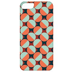 Modernist Geometric Tiles Apple Iphone 5 Classic Hardshell Case by DanaeStudio