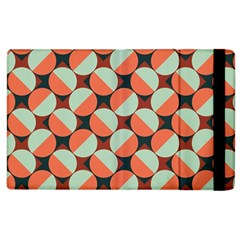 Modernist Geometric Tiles Apple Ipad 2 Flip Case by DanaeStudio