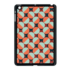 Modernist Geometric Tiles Apple Ipad Mini Case (black) by DanaeStudio