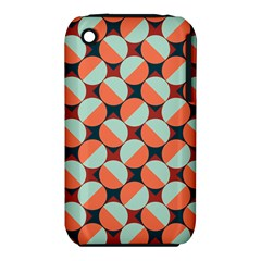 Modernist Geometric Tiles Apple Iphone 3g/3gs Hardshell Case (pc+silicone) by DanaeStudio