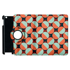 Modernist Geometric Tiles Apple Ipad 2 Flip 360 Case by DanaeStudio