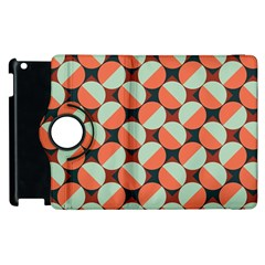 Modernist Geometric Tiles Apple Ipad 3/4 Flip 360 Case by DanaeStudio