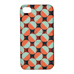 Modernist Geometric Tiles Apple Iphone 4/4s Hardshell Case With Stand by DanaeStudio