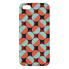 Modernist Geometric Tiles Apple Iphone 5 Premium Hardshell Case by DanaeStudio