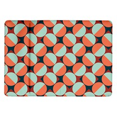 Modernist Geometric Tiles Samsung Galaxy Tab 10 1  P7500 Flip Case by DanaeStudio