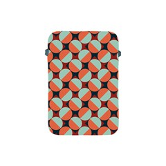Modernist Geometric Tiles Apple Ipad Mini Protective Soft Cases by DanaeStudio