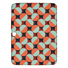 Modernist Geometric Tiles Samsung Galaxy Tab 3 (10 1 ) P5200 Hardshell Case  by DanaeStudio