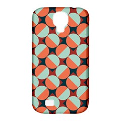 Modernist Geometric Tiles Samsung Galaxy S4 Classic Hardshell Case (pc+silicone) by DanaeStudio