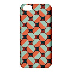 Modernist Geometric Tiles Apple Iphone 5c Hardshell Case by DanaeStudio
