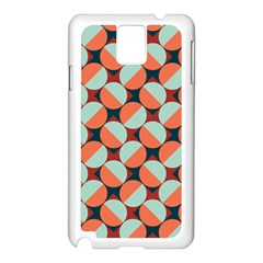 Modernist Geometric Tiles Samsung Galaxy Note 3 N9005 Case (White)