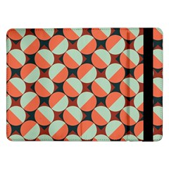 Modernist Geometric Tiles Samsung Galaxy Tab Pro 12 2  Flip Case by DanaeStudio