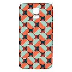 Modernist Geometric Tiles Samsung Galaxy S5 Back Case (White)