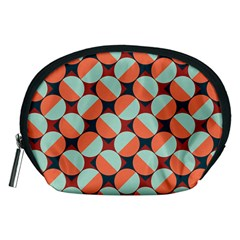 Modernist Geometric Tiles Accessory Pouches (medium)  by DanaeStudio