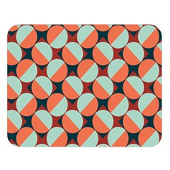 Modernist Geometric Tiles Double Sided Flano Blanket (Large)