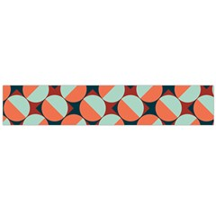 Modernist Geometric Tiles Flano Scarf (Large)