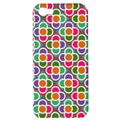 Modernist Floral Tiles Apple iPhone 5 Hardshell Case