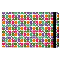 Modernist Floral Tiles Apple iPad 2 Flip Case