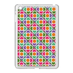 Modernist Floral Tiles Apple iPad Mini Case (White)