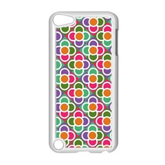 Modernist Floral Tiles Apple iPod Touch 5 Case (White)