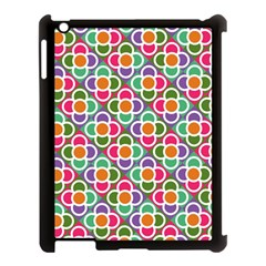 Modernist Floral Tiles Apple Ipad 3/4 Case (black)