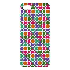 Modernist Floral Tiles Apple iPhone 5 Premium Hardshell Case