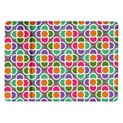 Modernist Floral Tiles Samsung Galaxy Tab 10 1  P7500 Flip Case by DanaeStudio
