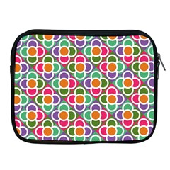 Modernist Floral Tiles Apple iPad 2/3/4 Zipper Cases