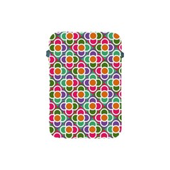 Modernist Floral Tiles Apple iPad Mini Protective Soft Cases