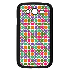 Modernist Floral Tiles Samsung Galaxy Grand DUOS I9082 Case (Black)