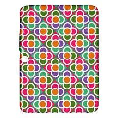 Modernist Floral Tiles Samsung Galaxy Tab 3 (10 1 ) P5200 Hardshell Case