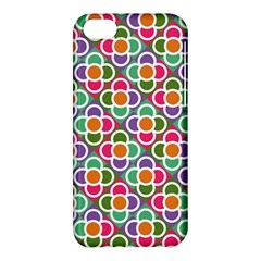 Modernist Floral Tiles Apple iPhone 5C Hardshell Case