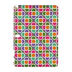 Modernist Floral Tiles Samsung Galaxy Note 10.1 (P600) Hardshell Case