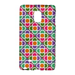 Modernist Floral Tiles Galaxy Note Edge by DanaeStudio