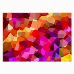 Geometric Fall Pattern Large Glasses Cloth by DanaeStudio