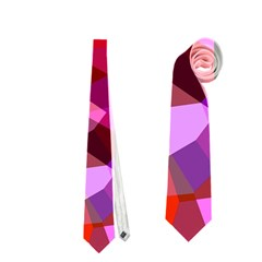 Geometric Fall Pattern Neckties (two Side)  by DanaeStudio