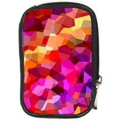 Geometric Fall Pattern Compact Camera Cases
