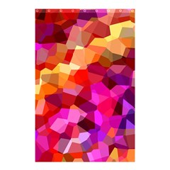 Geometric Fall Pattern Shower Curtain 48  X 72  (small)  by DanaeStudio